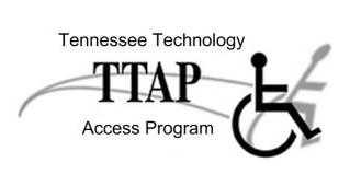 TN TAP logo with wheelchair symbol