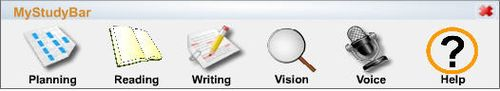 MyStudyBar tool bar graphic
